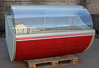 Холодильная витрина гастрономическая «Технохолод Флорида» 1.8 м. (Украина), широкая выкладка 65 см, Б/у, фото 1
