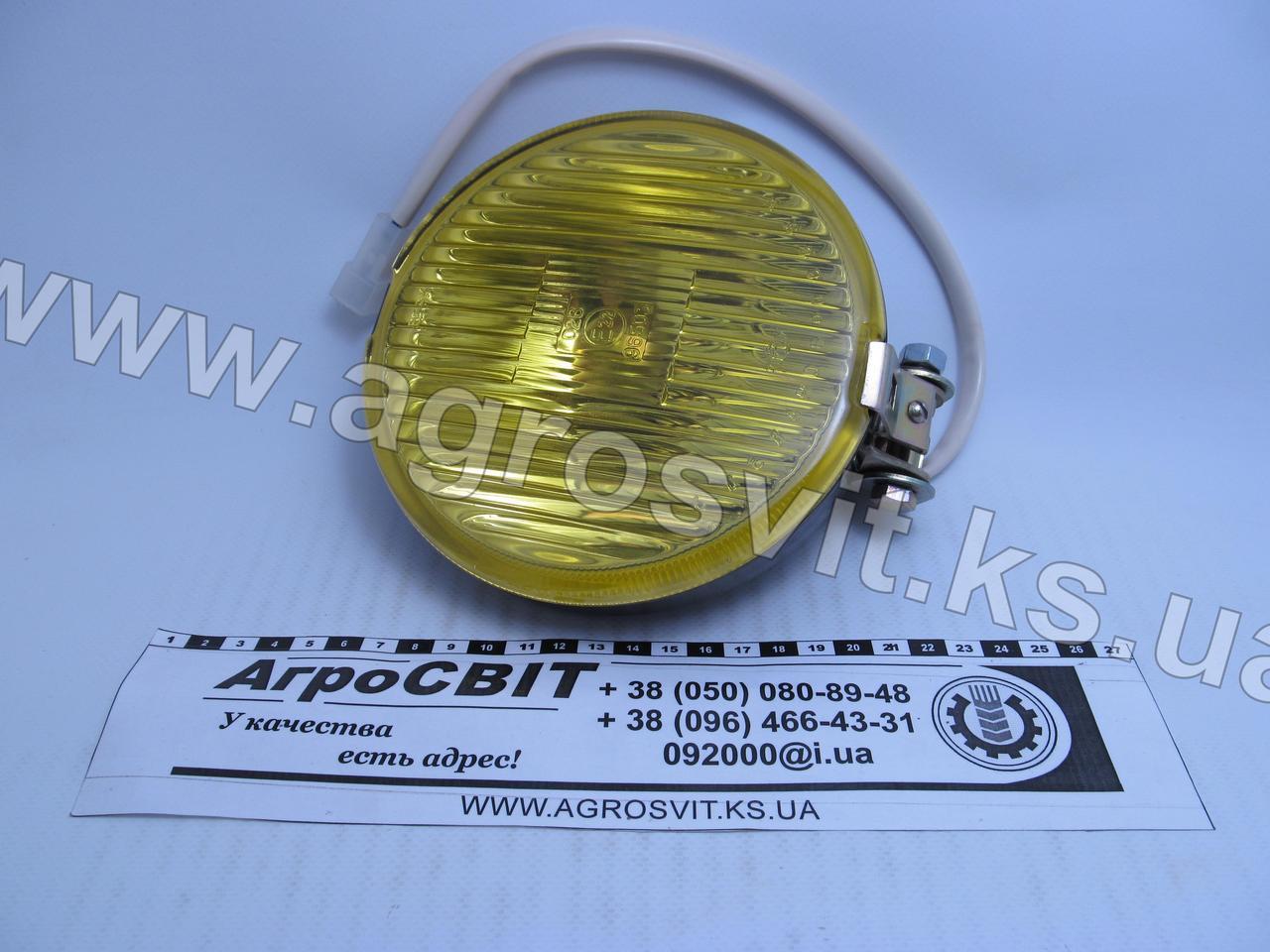 Фара противотуманная (круглая, желтая), 181.3743010