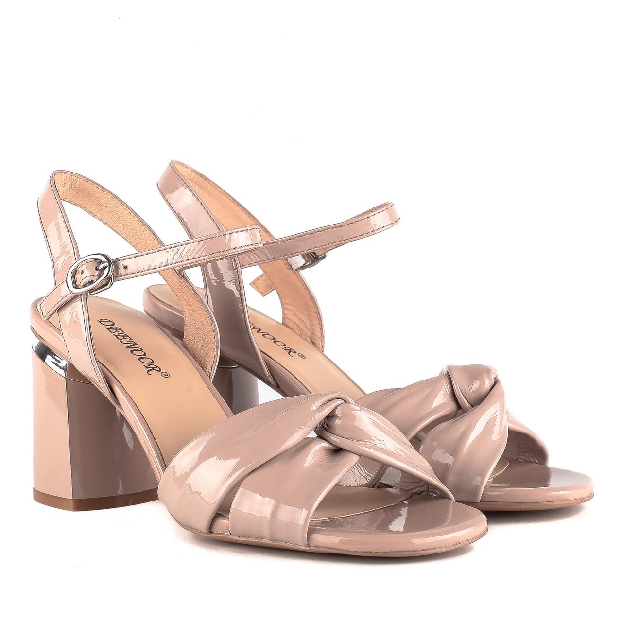 b2d4532d4 Босоножки женские DEENOOR (натуральные, на высоком каблуке, стильные)