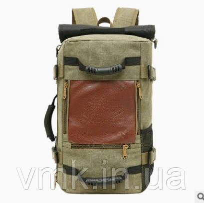 90ec5c72 Спортивная Сумка-рюкзак (трансформер) 50*30*20 См Цвет Зеленый — в ...