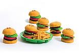 """Tutti-Frutti Набор для лепки """"Гамбургеры"""", фото 6"""