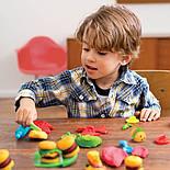 """Tutti-Frutti Набор для лепки """"Гамбургеры"""", фото 2"""