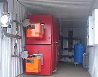 Газовый жаротрубный водогрейный котел термоблок Колви 400 Д ( 466 кВт )