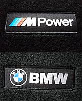 Текстильные коврики в салон BMW 3 E 46 черные