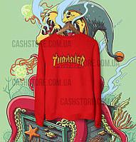 Cвитшот | Толстовка | Thrasher Flame | Унисекс