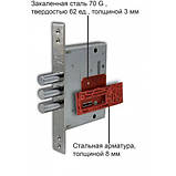 Двери Steelguard AV-1 Grey Glass New Серия RESISTE, фото 2