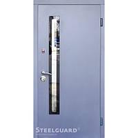 Двери Steelguard AV-1 Grey Glass New Серия RESISTE
