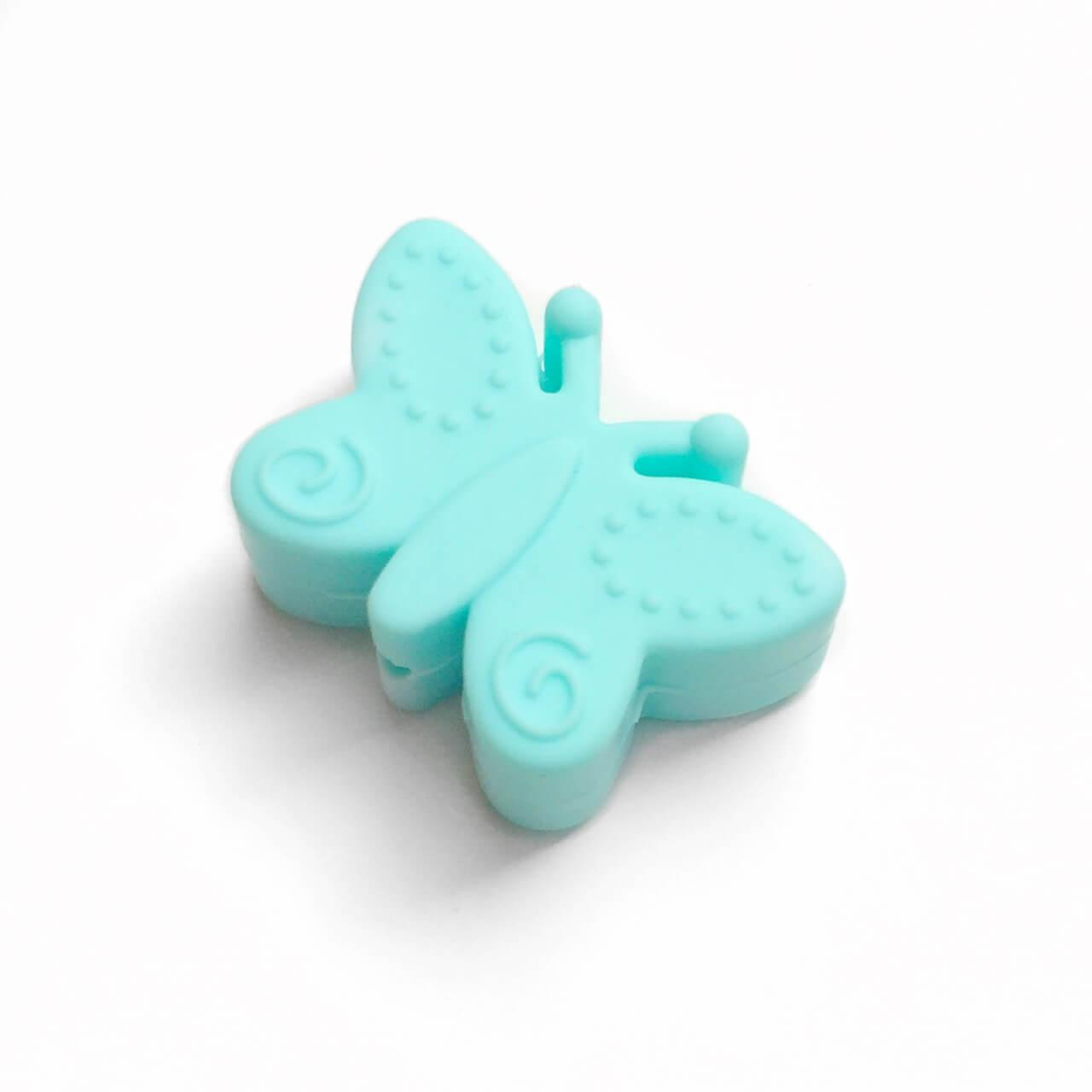 Бусина Бабочка (тиффани) силиконовая