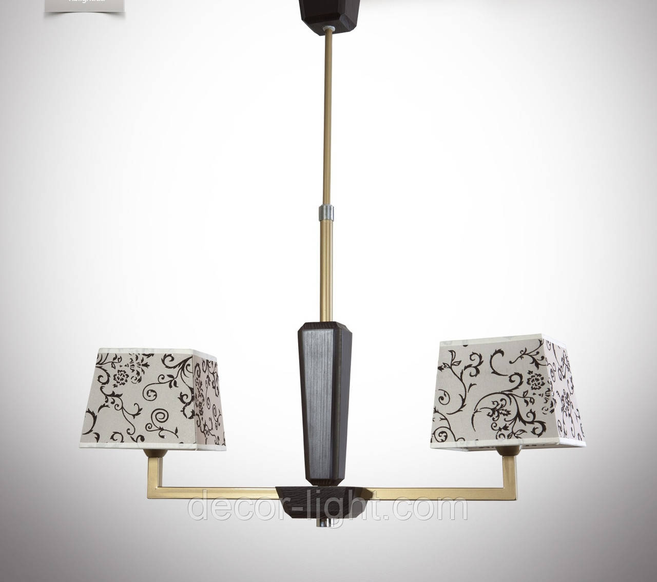 Люстра модерн на две лампы 14105-2