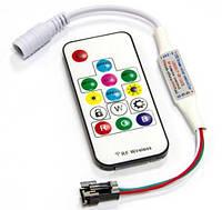 RGB Контроллер mini Smart strip 6А - Радио 14 кнопок, IP20, 5-24V