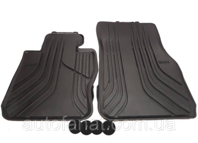 Оригинальные передние коврики салона BMW 3 (F30, F31, F34) (51472219799 / 51472339809)