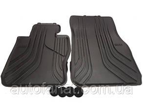 Оригинальные передние коврики салона BMW 3 (F30, F31) (51472219799 / 51472339809)