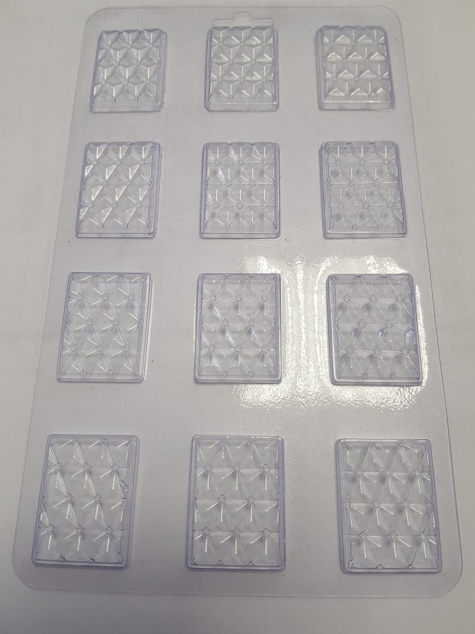 Форма для шоколада в ассорт. пластик Украина -06689