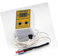 Терморегулятор цифровой с измерителем влажности  ЦТРВ