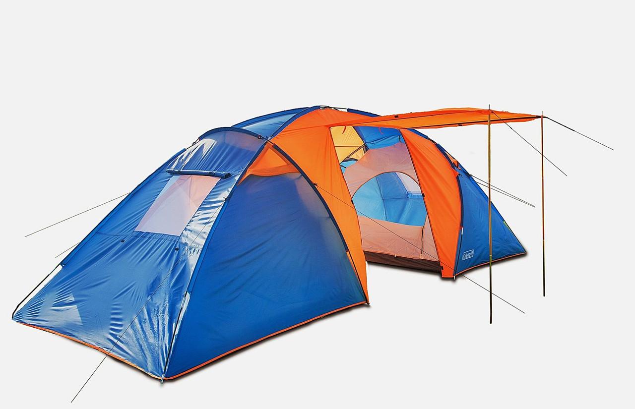 Палатка кемпинговая шестиместная Coleman 1002 (Польша)