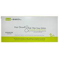 Итальянские ампулы с плацентой против выпадения и для роста волос Enercos Bio Seal Hair Growth