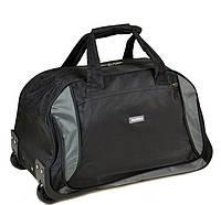 Дорожная сумка на колесах нейлон FILIPPINI 2/1 601 black