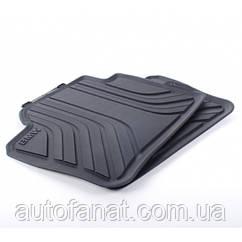 Оригінальні задні килимки салону BMW 3 (F30, F31) (51472219802)
