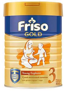 Молочная смесь Friso Фрисолак Gold 3, 800 г