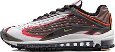 Мужские кроссовки Nike Air Max Deluxe Sequoia/Team Orange/Black/Camper Green AJ7831 300, Найк Аир Макс Делюкс