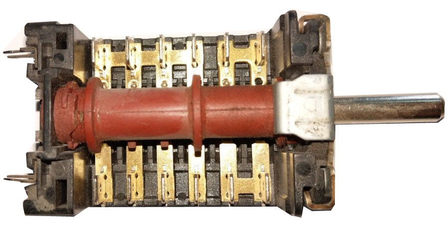 5-ти позиционный переключатель 820507 для плиты Hansa