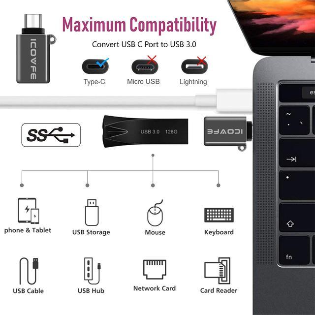 Адаптер USB Type C к USB 3.0