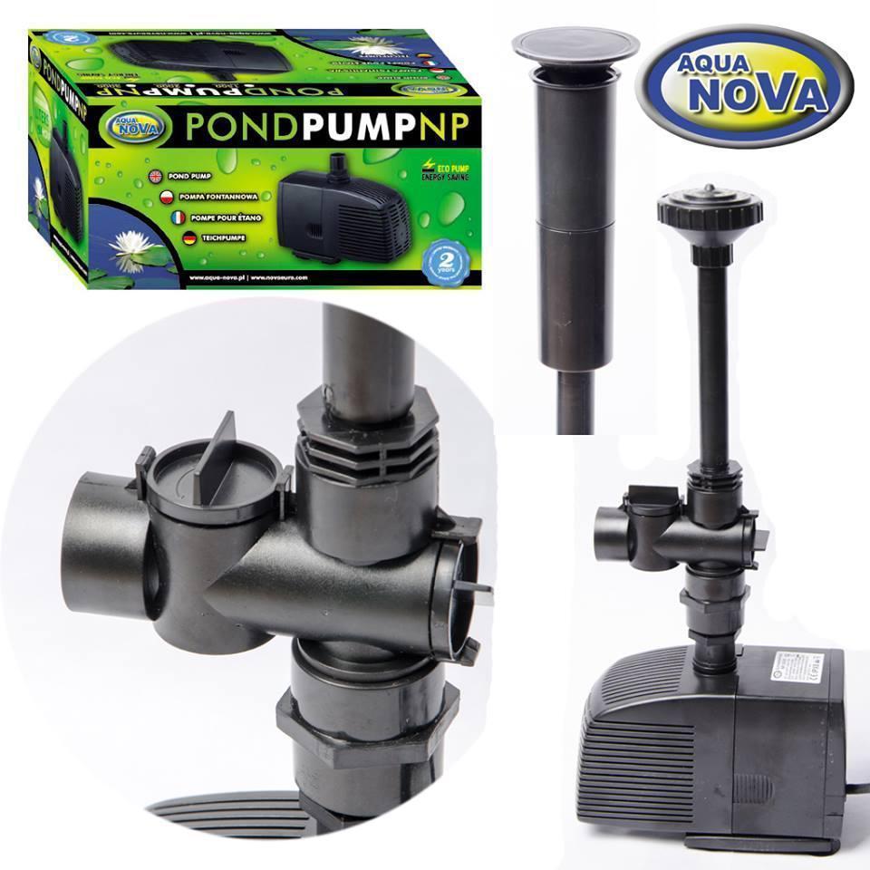 Насос для фонтана aquanova NP-1500 л/ч (в к-те фонтанные насадки)