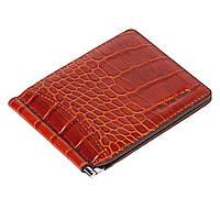 Зажим для денег Eminsa 1075-4-2 кожаный коричневый, фото 1