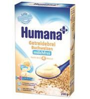 Каша молочная гречневая хумана humana, 200г