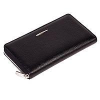 Жіночий гаманець Eminsa 2152-18-1 шкіряний чорний