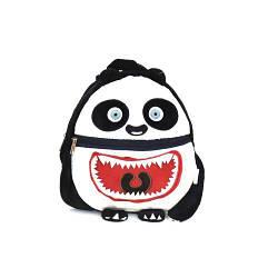 """Мягкий рюкзак для детей """"Монстрик"""" (чёрно-белый)"""