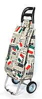 Господарська сумка візок Xiamen із залізними колесами Shoping Italy (0030), фото 1