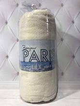Махровая простынь на резинке, ,160 х 200+ 30  см. Bonjorno Paris беж