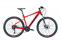 """Горный велосипед LEON XC 70 AL HDD AM 27.5""""(красно-оранжевый)18r, фото 1"""