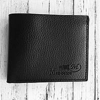 """Мужское портмоне-кошелёк стильный вместительный """"Men Bense"""" (чёрный), фото 1"""