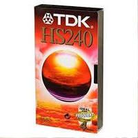 Видеокассета TDK VHS 4 hours 240 min