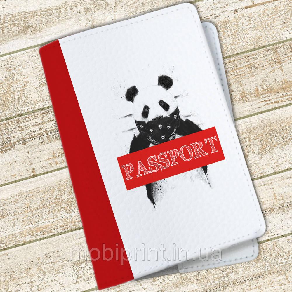 Обложка на паспорт Панда (24942-1517)