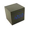 Настольные электронные часы в деревянном корпусе VST-869-1, фото 10