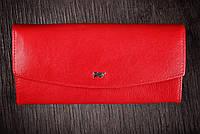 Кошелек красный Braun Buffel, натуральная кожа