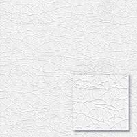 """Обои флизелиновые  """"Однотонная текстура"""" под покраску, белые, 1 Х 25 – Синтра 857304"""