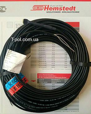 Тонкий нагрівальний кабель dr hemstedt 675вт 53,8 м тепла підлога на 4,5 м2, фото 2