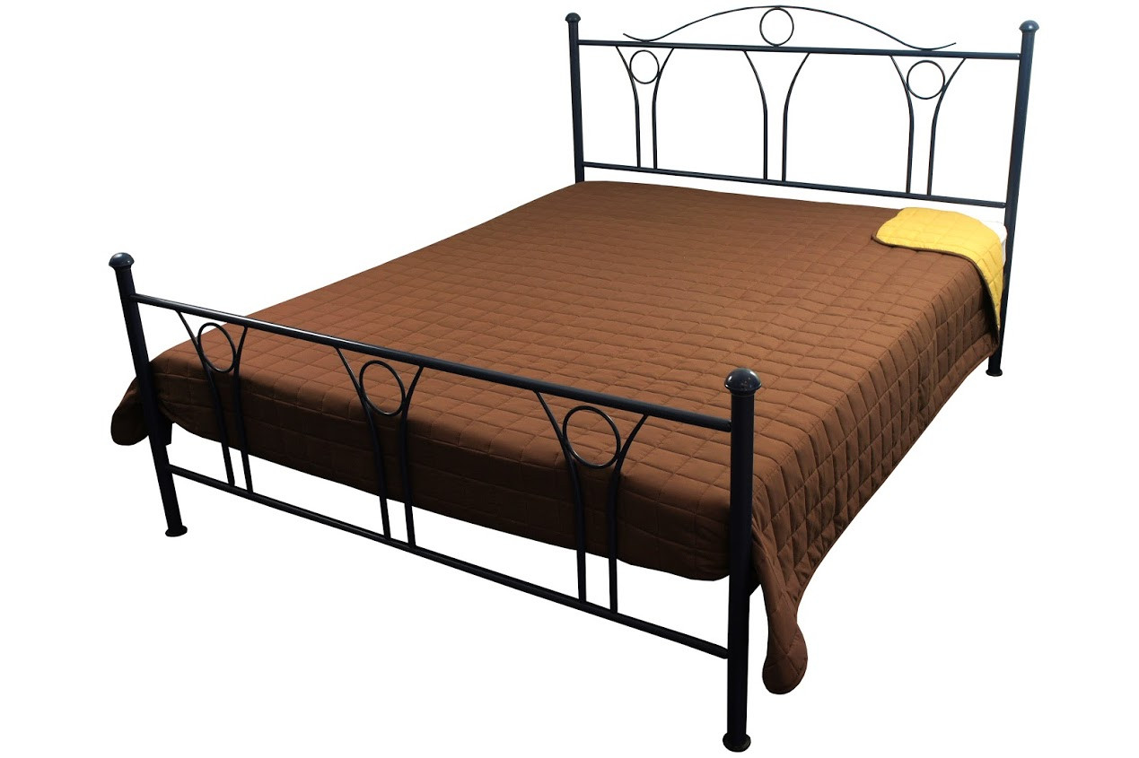 Покрывало на кровать, диван коричневое 150х212