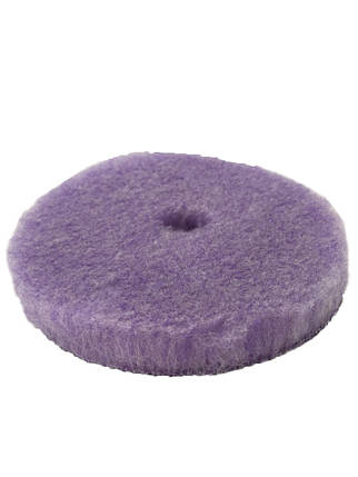 Полировальный круг гибридная шерсть - Lake Country Purple Foamed Wool Buffing/Polishing 125 мм. (58-32525WH-1), фото 2