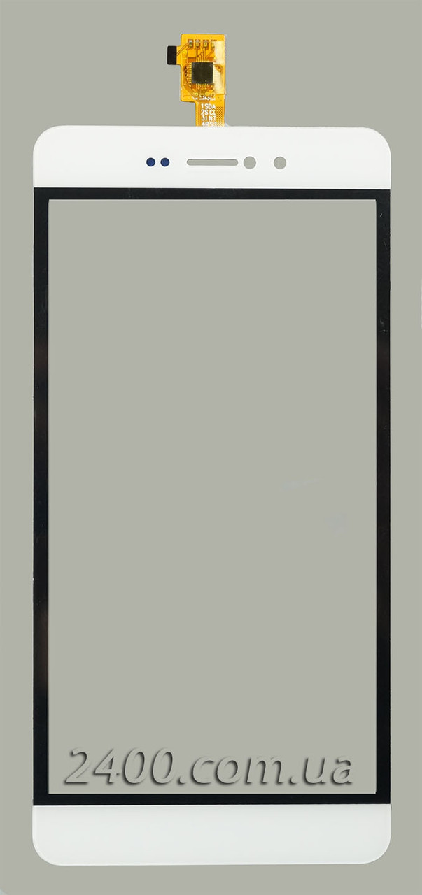 Touchscreen для телефонів Bravis A505 (сенсор) - тачскрін Бравіс А505 (A 505 Joy Plus) білий