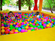 Кульки для сухого басейну INTEX Fun Ballz 8 див. 100 шт 49600