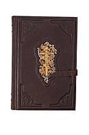 Подарочная Библия большая с индексами в кожаном переплете
