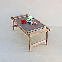 Столик-поднос для завтрака Теннесси, капуччино, Декор и интерьер, Столик-піднос для сніданку Даллас, шафран