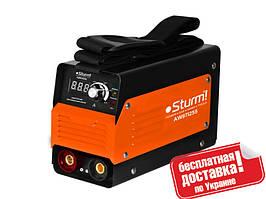 Сварочный инвертор (255А, кнопка) Sturm AW97I255D