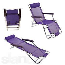 Раскладные шезлонги, лежаки, стулья, гамаки кемпинг