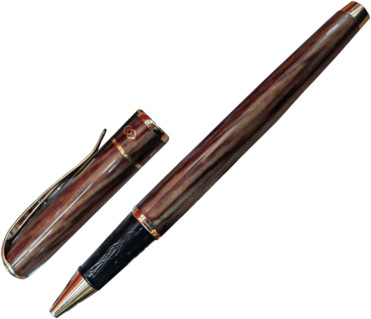 Ручка капиллярная МАРМЕЛАД, металлическая, синяя